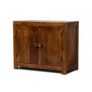 Dakota Mango Small 2-Door Sideboard 1
