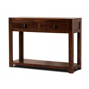 Dakota Dark Mango Console Table 1