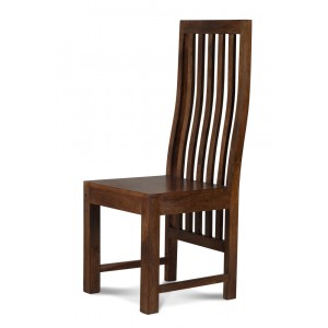 Dakota Dark Mango Dining Chair 1