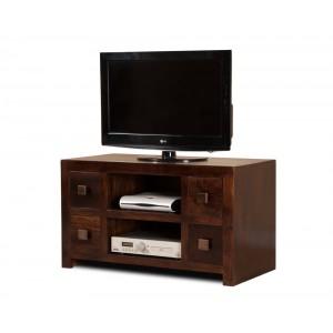 Dakota Dark Mango Large TV Unit 1