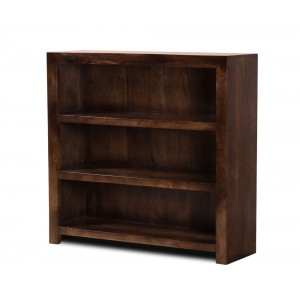 Dakota Dark Mango Small Bookcase 1