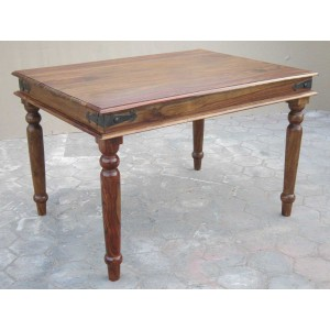 Jali Sheesham 120cm Dining Table 1
