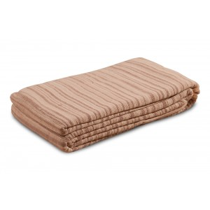 Beige Cotton Throw - 5060 1