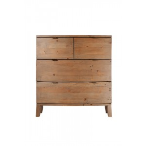 Antigua Reclaimed 4 Drawer Chest 1
