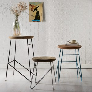 Arizona Acacia Set of 3 Stools