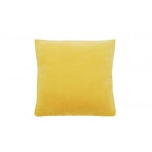 Velvet large cushion Ochre