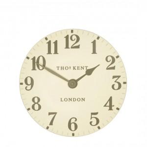 Thomas Kent Arabic Cream Small Wall Clock
