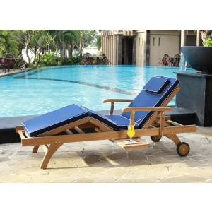 Bedford Sun Lounger Cushion 1