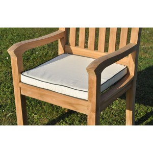 square cotton chair cushion - Garden Furniture Cushions Uk