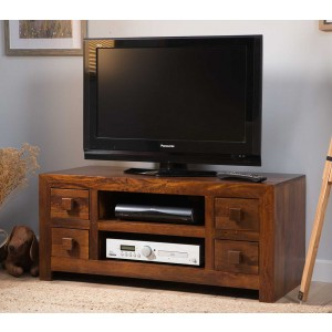 Dakota Mango Low TV Unit