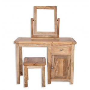Farmhouse Light Mango Dressing Table (Table only)