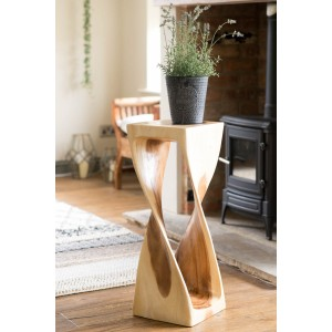 Extra-Large Single Twist Table - Clear