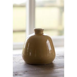 Squat Vase - Corn