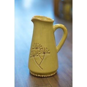 Yellow Dandelion Jug - Tall