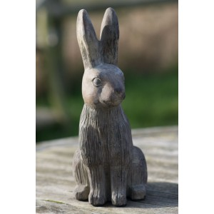 Stone Hare Ornament - Small