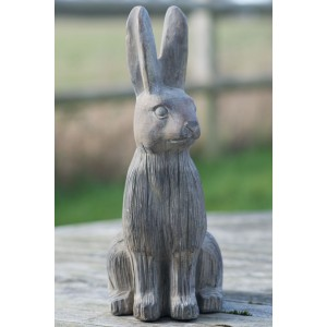 Stone Hare Ornament - Medium