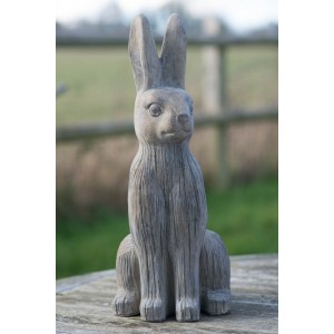 Stone Hare Ornament - Large
