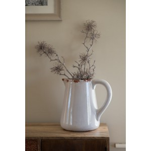 Sorrento Pitcher - Light Grey