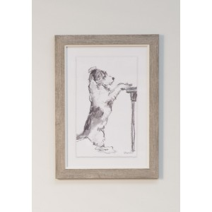 Paw Prints- Framed Print