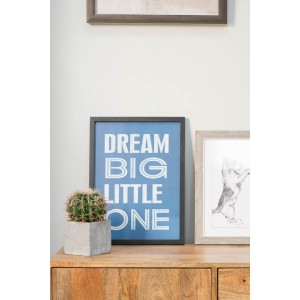 Dream Big- Framed Poster