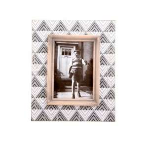 Aztec Print Inspired Picture Frame