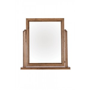 Florence Mango and Stone Gallery Mirror 1