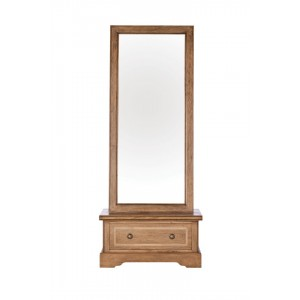 Florence Mango and Stone Cheval Mirror 1