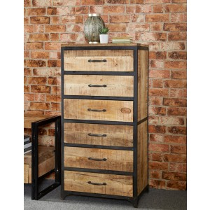 Imari Industrial Mango Tall Chest
