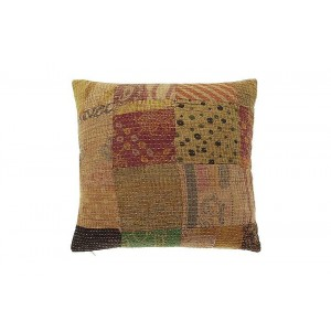 Kantha vintage cushion