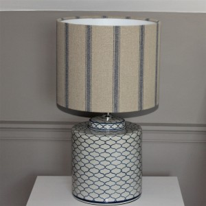 35cm x 30cm Angus Nordic Blue Stripe Drums