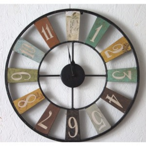 French Industrial Style Clock
