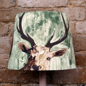 45cm Green Stags Head Empire