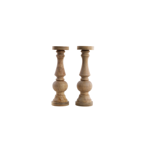 Indali Wooden Candle Stick