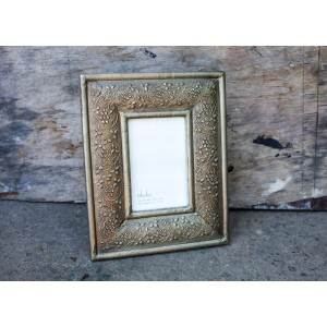Jambiani Pewter Picture Frame 6x4