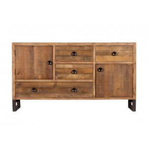 Brooklyn Industrial Wide Sideboard