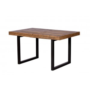 Brooklyn Industrial Extending Dining Table 140-180CM