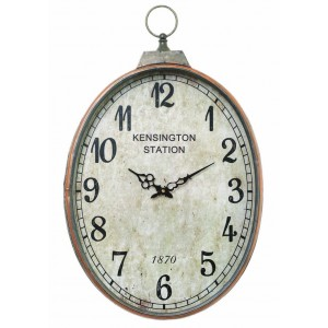 Mindy Brownes Reo Oval Clock