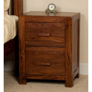 Mandir Sheesham Bedside Table 1