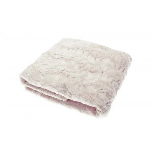 Faux Fur Throw - Oyster