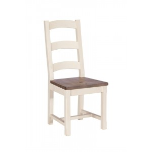 Montpellier Painted Wooden Seat Dining Chair 1