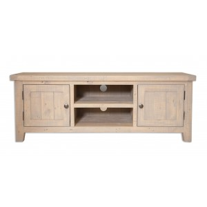 Cotswold Reclaimed Pine Wide Media Unit