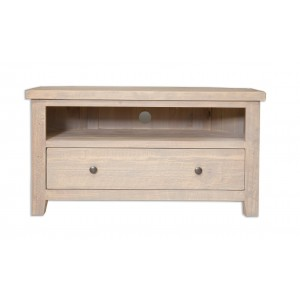 Cotswold Reclaimed Pine Corner TV Unit