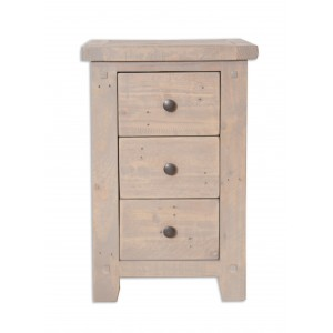 Cotswold Reclaimed Pine Bedside Cabinet