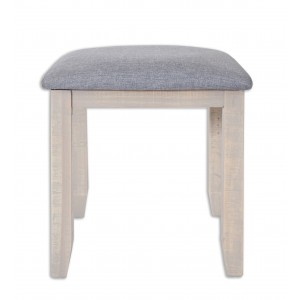 Cotswold Reclaimed Pine Dressing Table Stool