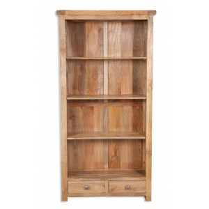 Farmhouse Light Mango Large Bookcase