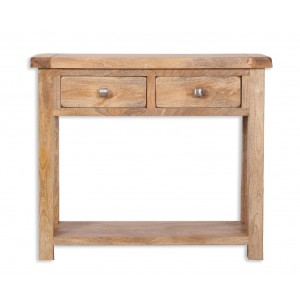 Farmhouse Light Mango Console Table