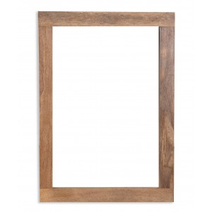 Farmhouse Light Mango Wall Mirror