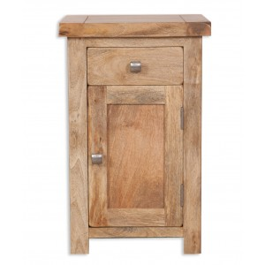 Farmhouse Light Mango Bedside Cabinet