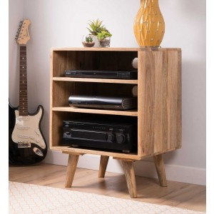 Oslo Light Mango Low Hi-Fi Unit