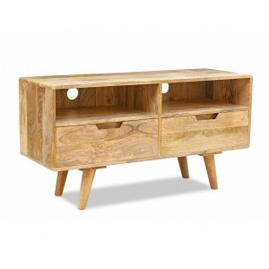 Oslo Light Mango Medium TV Unit